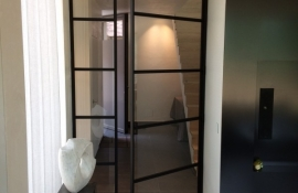 metalen strakke binnendeur (V78)