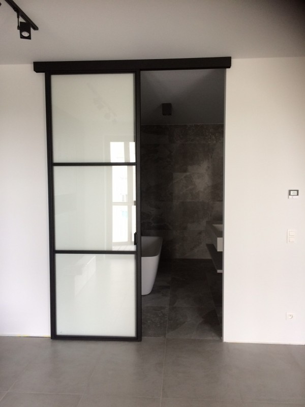 metalen strakke binnendeur (V84)