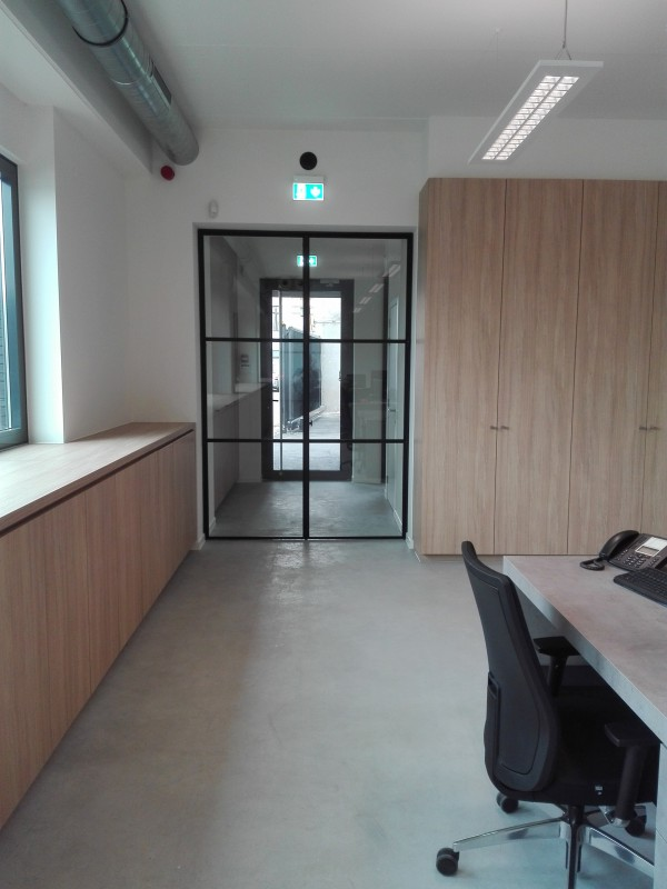 metalen strakke binnendeur (V86)