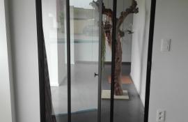 metalen strakke binnendeur (V87)
