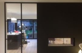 metalen strakke binnendeur (V91)
