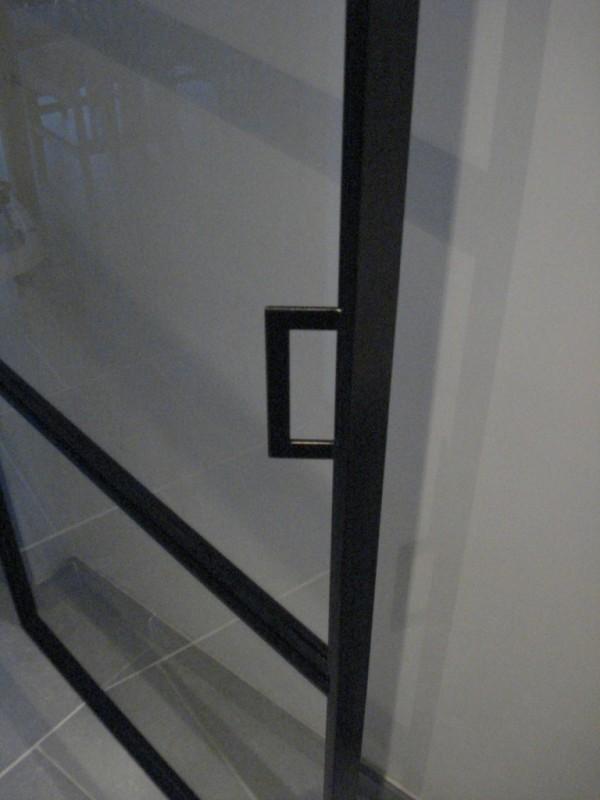 detail strakke deur